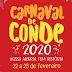 """""""Carnaval de Conde 2020"""" terá shows na Praça do Mar e Blocos na principal de Jacumã. Confira a programação"""