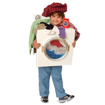 Come-Clean Washing Machine Costume