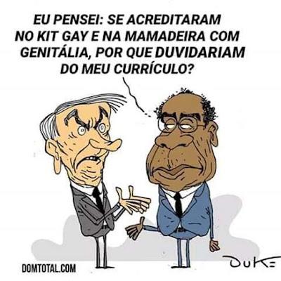 Bolsonaro e Decotelli. Café com Jornalista