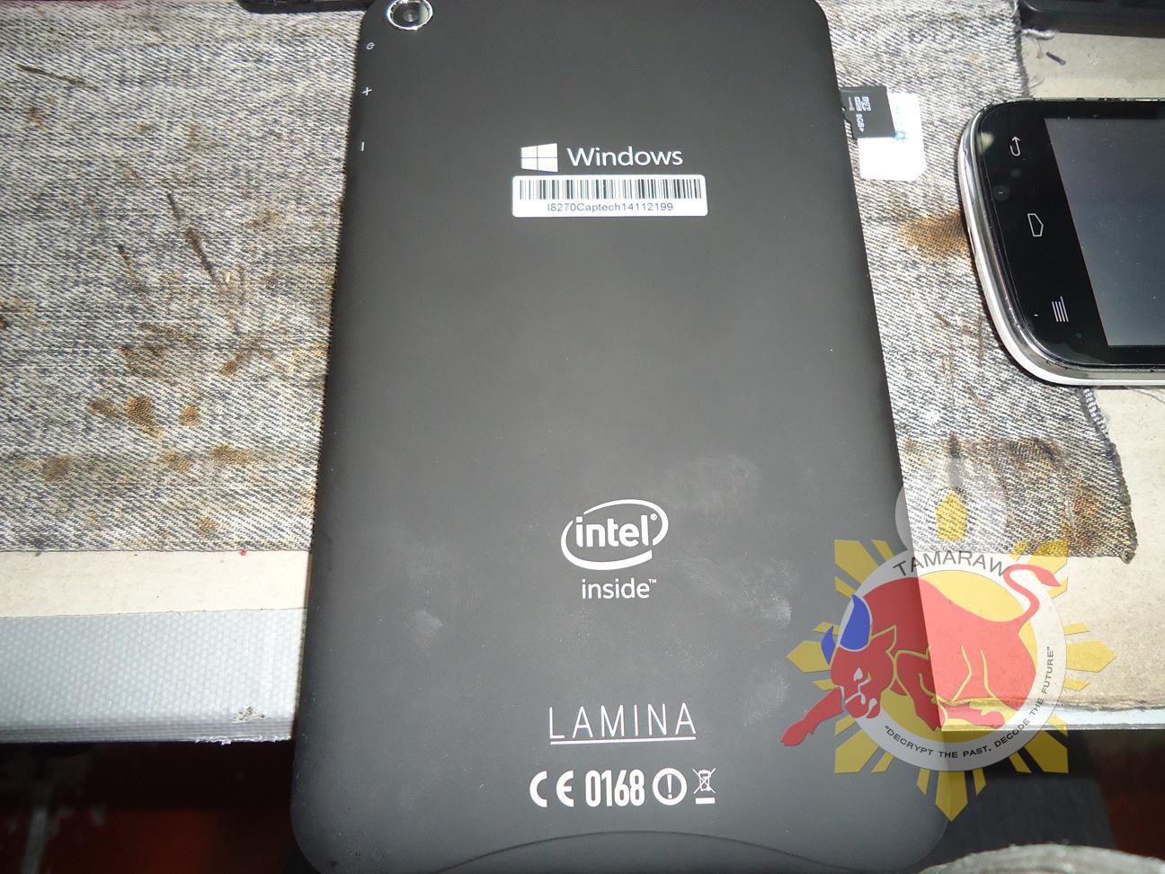 TAMARAW8: Windows Lamina Tablet Forgotten Password, Reset Solution
