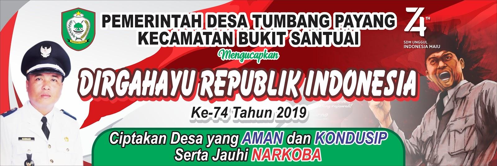 Download Banner Spanduk HUT RI 75 Tahun 17 Agustus 2020 ...