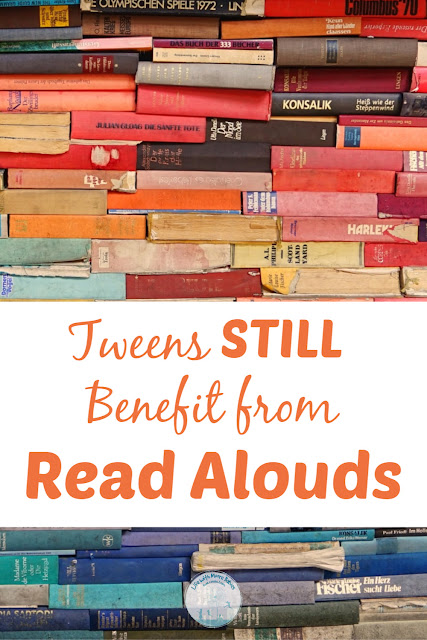 Tweens Still Benefit Big from Read Alouds