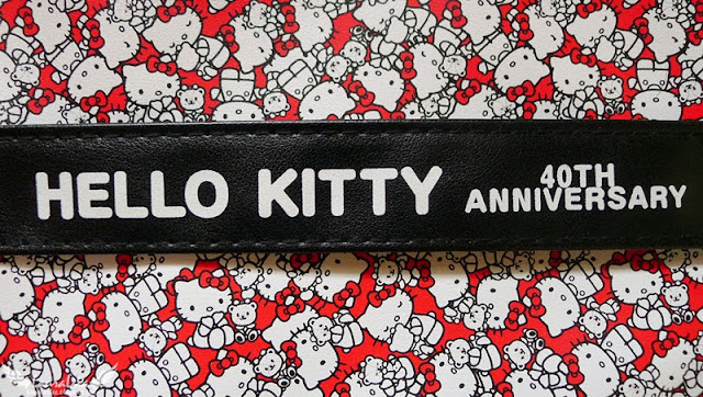 Hello Kitty 40th Anniversary Vanity Bag & Cosmetic Bag