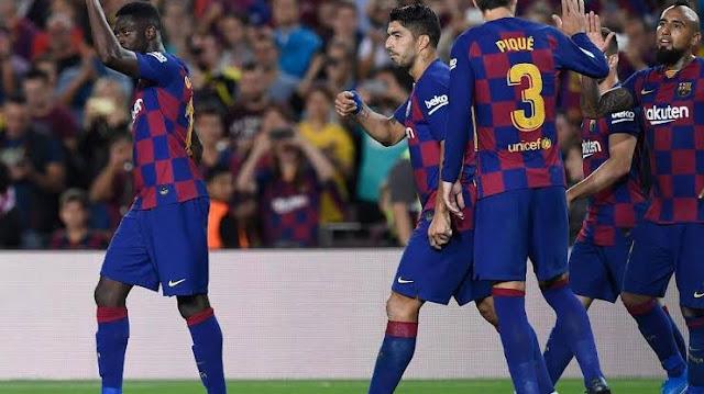 تشكيل برشلونة ضد ايبار عبر سوفت سلاش