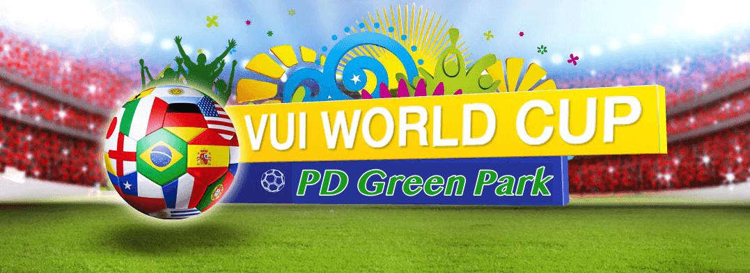 Sôi động cùng wordcup tại chung cư PD Green Park