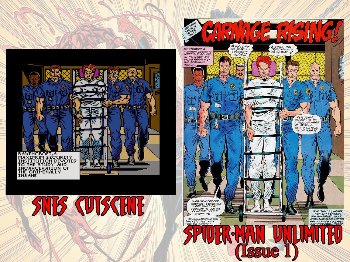Popculturecast Spider Man And Venom Maximum Carnage Snes 1994
