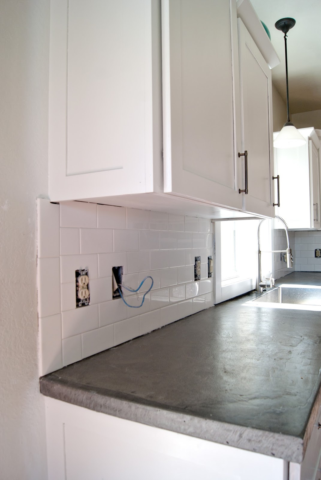 Subway Tile Installation + Tips On Grouting With Fusion