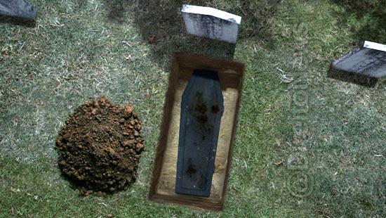 homem indenizacao enterrar sozinho proprio pai