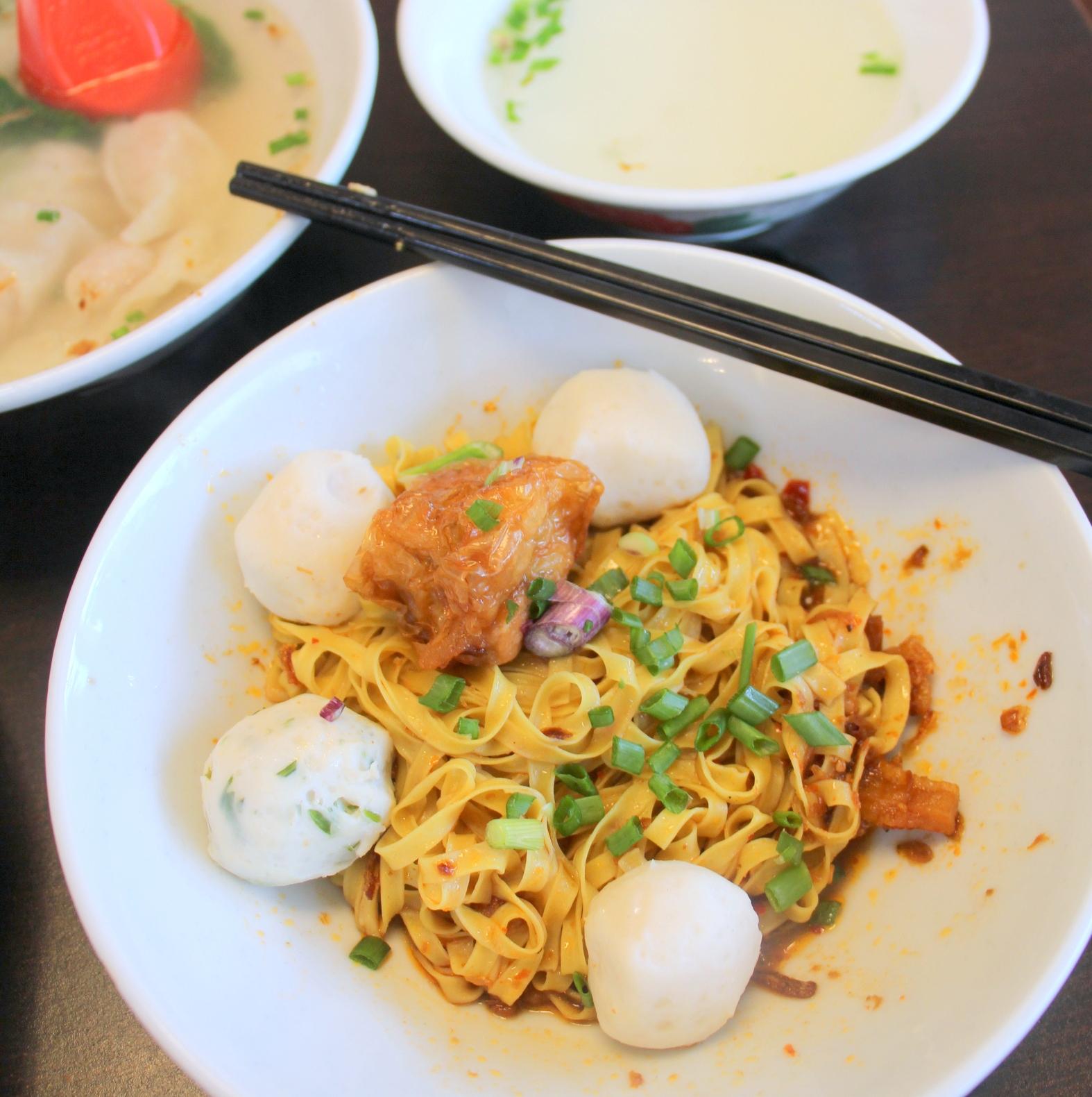 singapore japan food blog  dairy and cream fishball khin