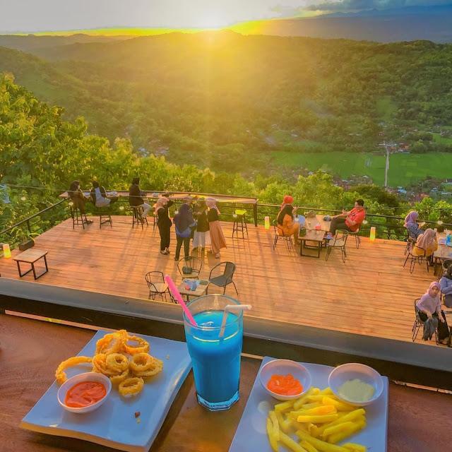 Millenial Coffee & View Watu Amben Jogja Menu, Daya Tarik dan Lokasi