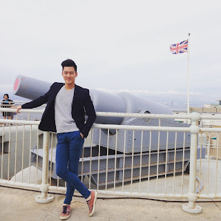 Alaric Ong in Gibraltar, Great Britain