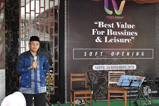 <b>Dukung Pariwisata, Gubernur NTB Resmikan Lombok Vaganza Hotel</b>