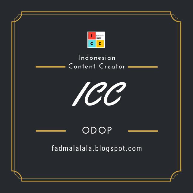 30 HARI BERSAMA INDONESIAN CONTENT CREATOR (ICC)
