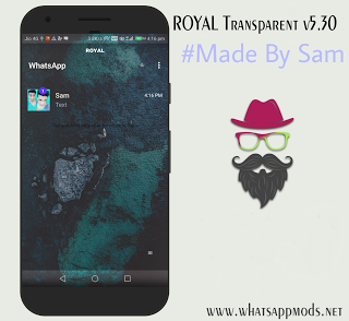Royal WhatsApp v5.30 Transparent Edition WhatsAppMods.in