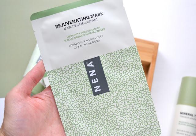NENA Skincare Rejuvenating and Moisturizing Masks