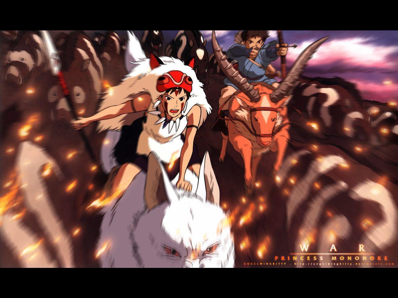 Pix For > Princess Mononoke Wallpapers Ashitaka