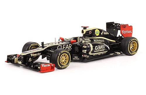Lotus E20 2012 Kimi Raikkonen f1 the car collection