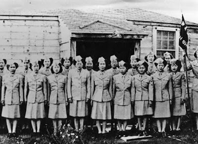 Women's Equality Day The Skirted Soldier - tea WAC WW2