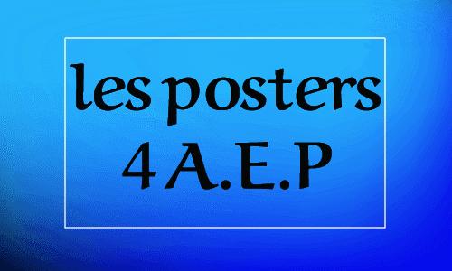 Posters Livret Le nouvel espcae de français L'école des mots 4aep Activites orales ملصقات المستوى الرابع