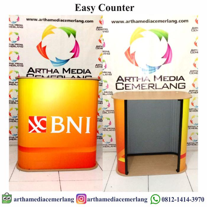 Spesifikasi Meja Promosi Easy Counter Portable