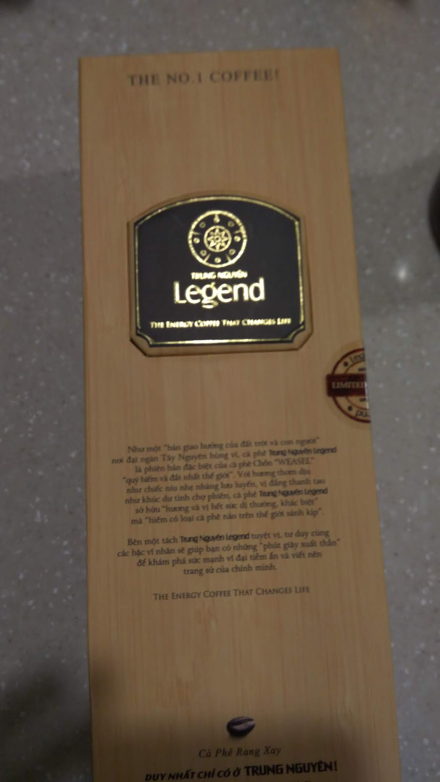 [咖啡日常]越南麝香貓咖啡/Trung Nguyen Legend Weasel Vietnamese Coffee | XD SFan