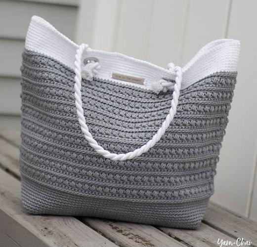 Malia Shoulder Bag Free Crochet Tutorial