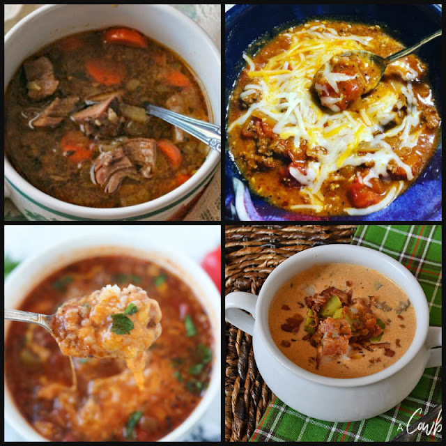 12 made-from-scratch soup recipes that will warm you up this winter. Chicken soups, hearty soups and vegetable soups that are sure to become your new family favorites.