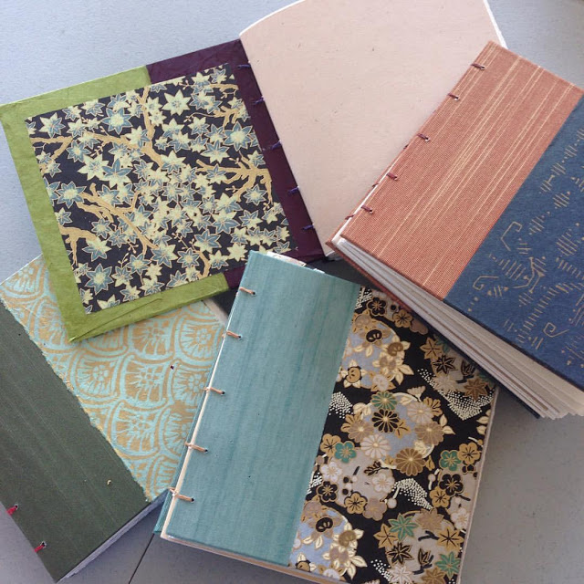 art retreat weekend book binding