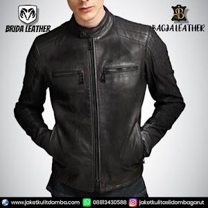 Jual Jaket Kulit Asli Garut Pria Domba Original Brida Leather B87 | WA 08813430588