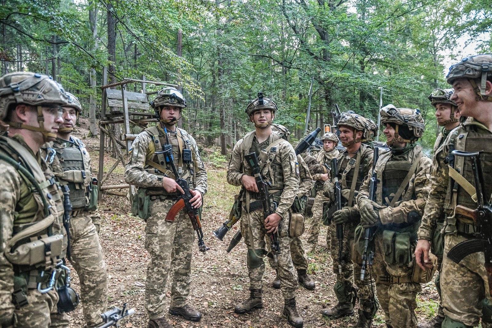 Українці захопили штаб американського батальйону