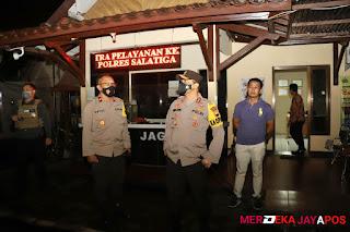 Kapolda Jateng Sidak penjagaan Mapolres Surakarta, Boyolali, Salatiga