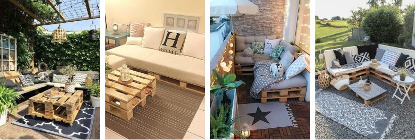 Faça você mesmo: sofás e mesas com pallet