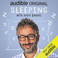 Audiobook cover for Sleeping with David Baddiel