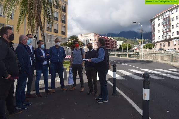 El Ayuntamiento se coordina con el Consejo Insular de Aguas en el diseño del cubrimiento del Barranco de Las Nieves