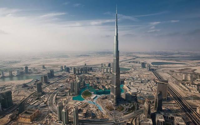 Arribada a Dubai i visita al Burj Khalifa