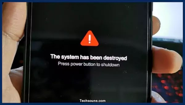 System has been Destroyed حل