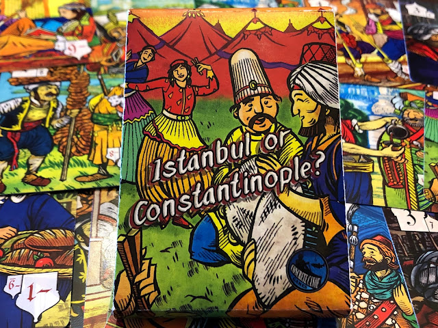 Istanbul or Constantinople? Card Game Review; Photo by Benjamin Kocher