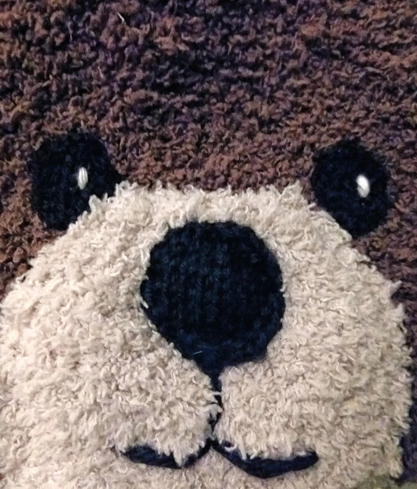 baaa84e3f3b5 Fée du tricot  Le bonnet petit ours brun
