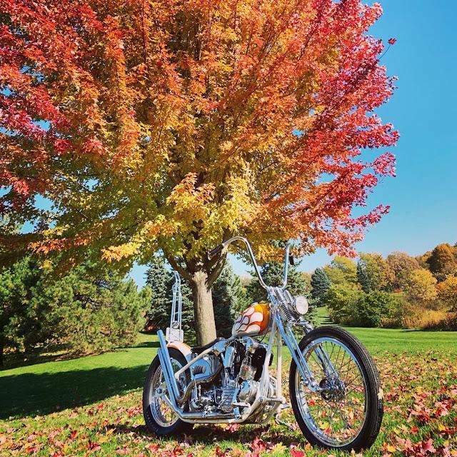 Harley Davidson Knucklehead By Rob Hultz Hell Kustom