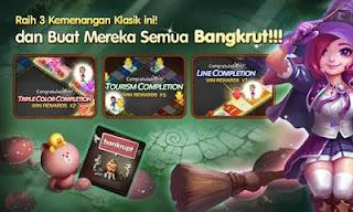 LINE Let's Get Rich v 1.5.0 Terbaru