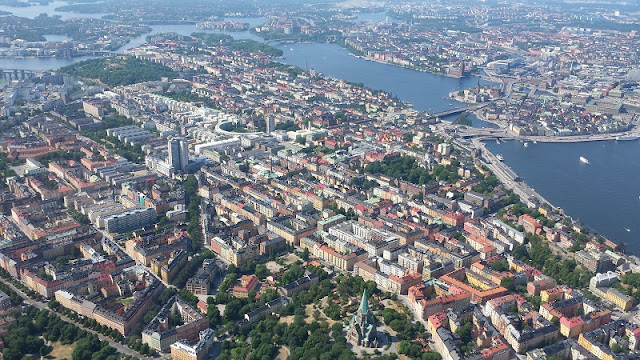Stockholm aerial photo from the Nordic Visitor Blog