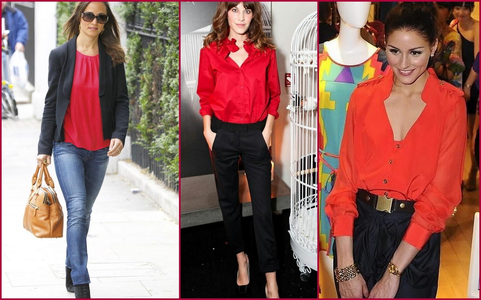 Blusa Rojo Valentino - El Blog De Silvia Rodriguez | Blog De Moda | Viajes