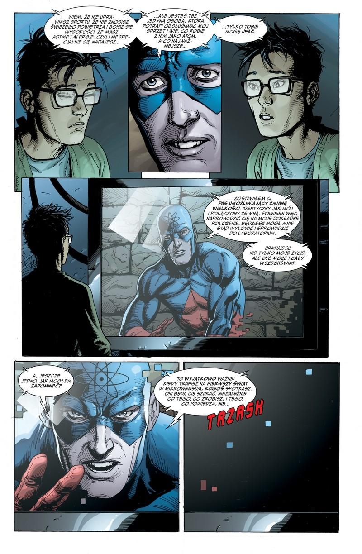 Uniwersum DC: Odrodzenie przykładowa strona