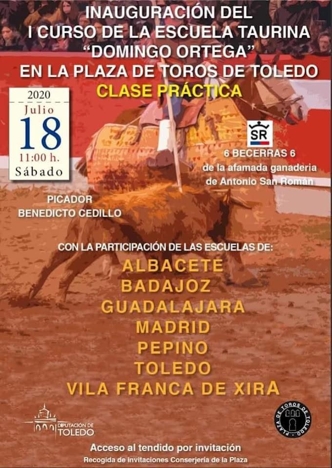 """Alunos da Escola de Toureio """"José Falcão"""" no próximo sábado em Toledo"""