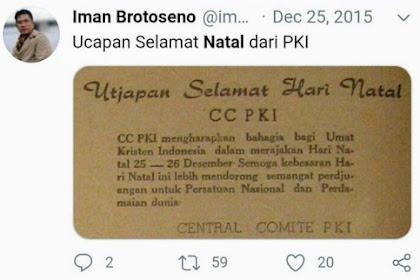 NAH LOH, TERCYDUK Ngetwit Tentang PKI, Akun Twitter Dirut TVRI Tiba-tiba Lenyap, NGACIR?