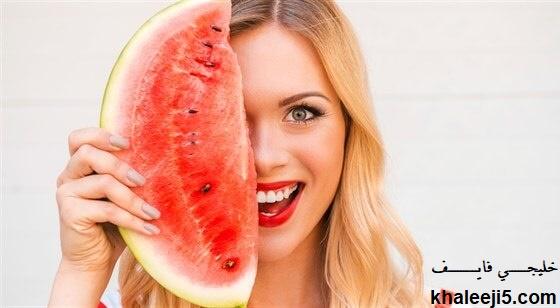 حمية البطيخ للتخلص من وزن الجسم الزائد ومن الارداف
