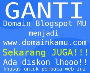 Jasa Setting Domain Blogspot