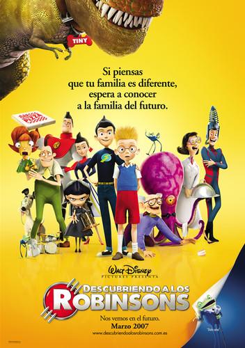 Descubriendo a los Robinsons (2007) [BDrip Latino] [Animación]