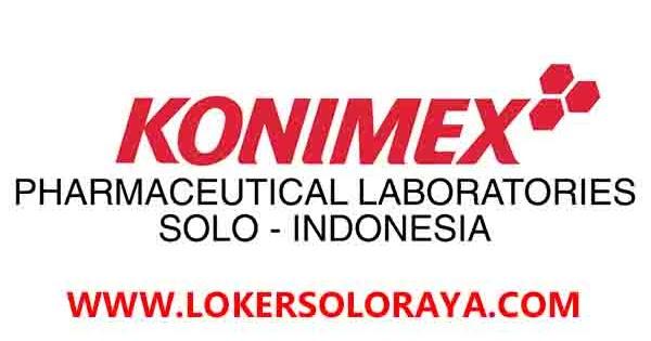 Lowongan Kerja PT Konimex Sukoharjo Juli 2020 - Portal Info ...
