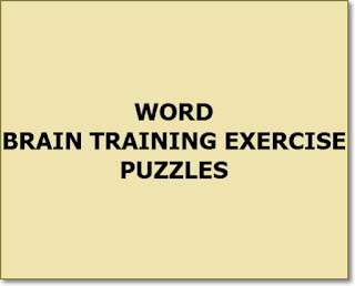 brain training exercise word puzzles thursday005 series
